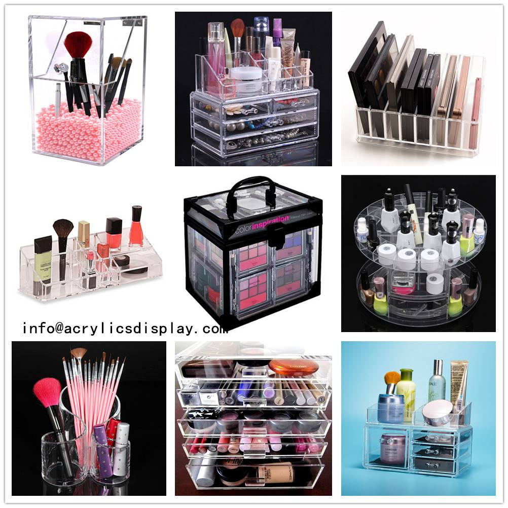 Lucite Acrylic Cosmetic Display Unit