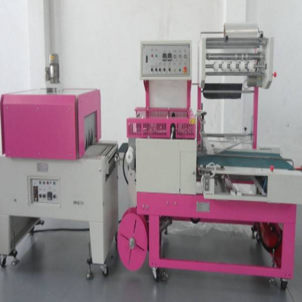 plc track high efficiency invoice shrink wrapper machine with shrinking machine