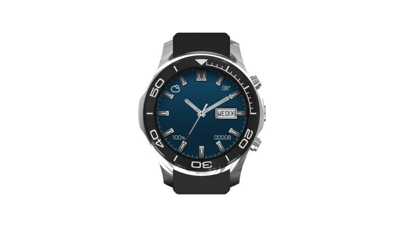 1.3inch 3G watch with 500w camera and 430mAh large battery