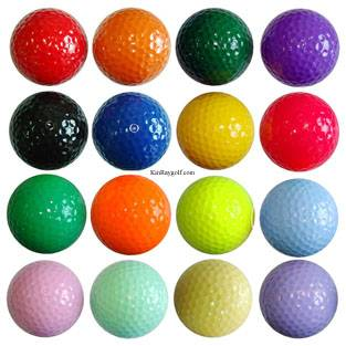Color Golf Balls,miniature color golf balls