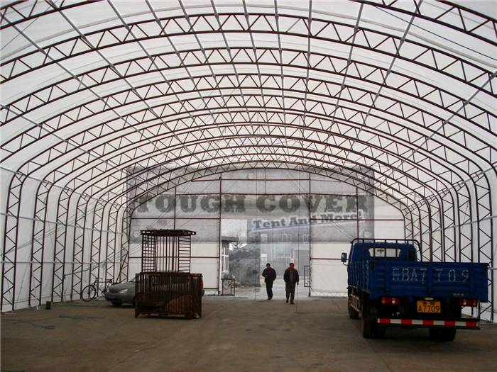 15m wide Fabric Building, Truss Structure TC496624, TC499824, TC4911524