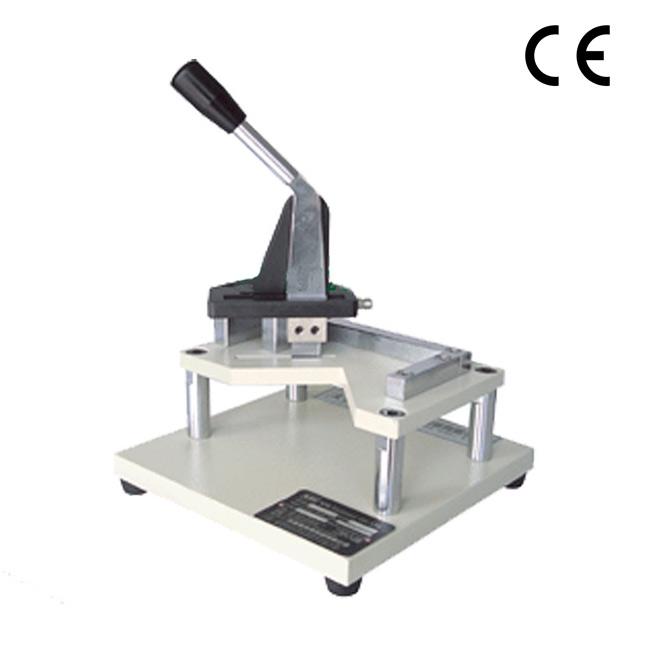 RT-413 Ring crush butterfly sample cutting machine