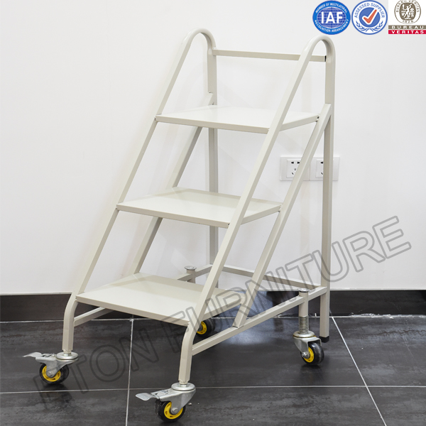 Metal Book Ladder For Archive