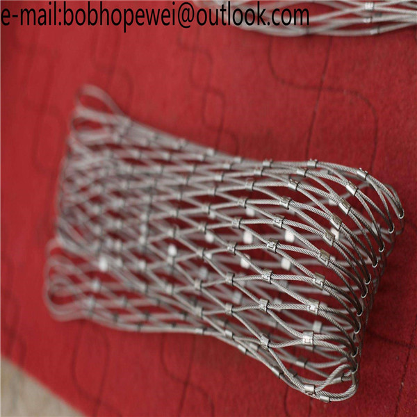 stainless steel wire rope fence mesh with SGS certificated