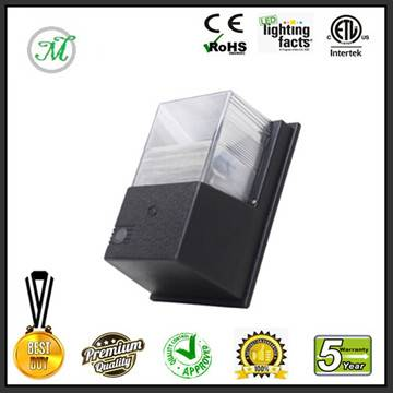 ETL DLC approved 10W LED wall pack light outdoor led wall pack