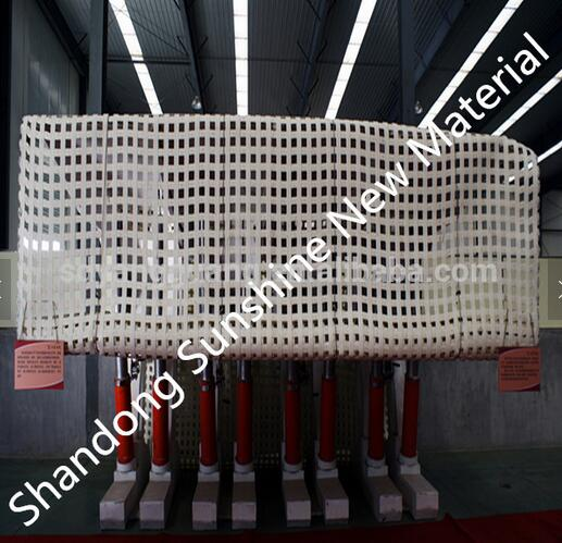 400kn-400kn mine grid white grid oil PVC coated with MA certification
