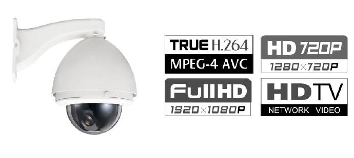 GA-NC8xL Full Function Outdoor HD Speed Dome IP Camera