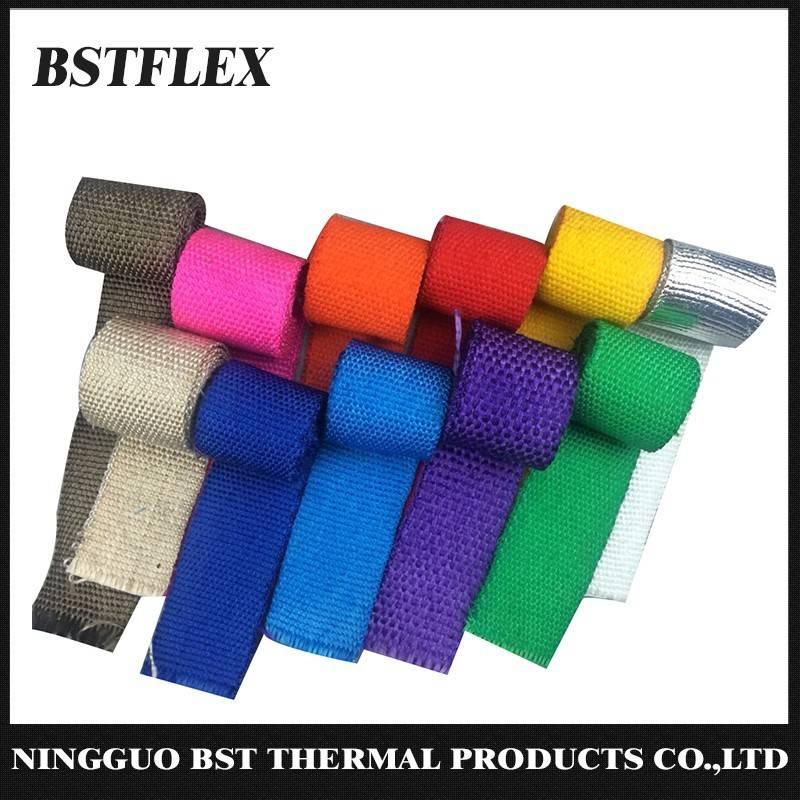 Color Fiberglass Exhaust Wrap