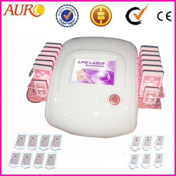 AU-66 laser slim 12pcs big and 2pcs small laser pads for Laser lipolysis beauty machine