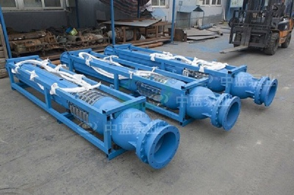 Horizontal submersible pump