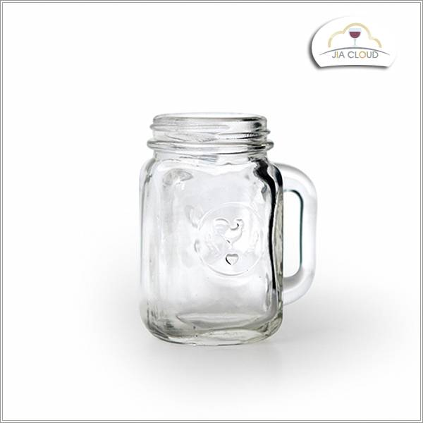 glass bottle for juice drinking glass bottle with handle