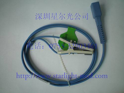 Animal tongue clip spo2 sensor