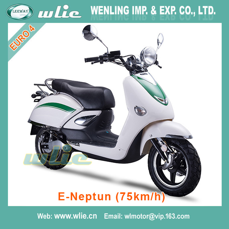 With Euro 4 EEC 3000w electric Scooter E-Neptun (75km/h)