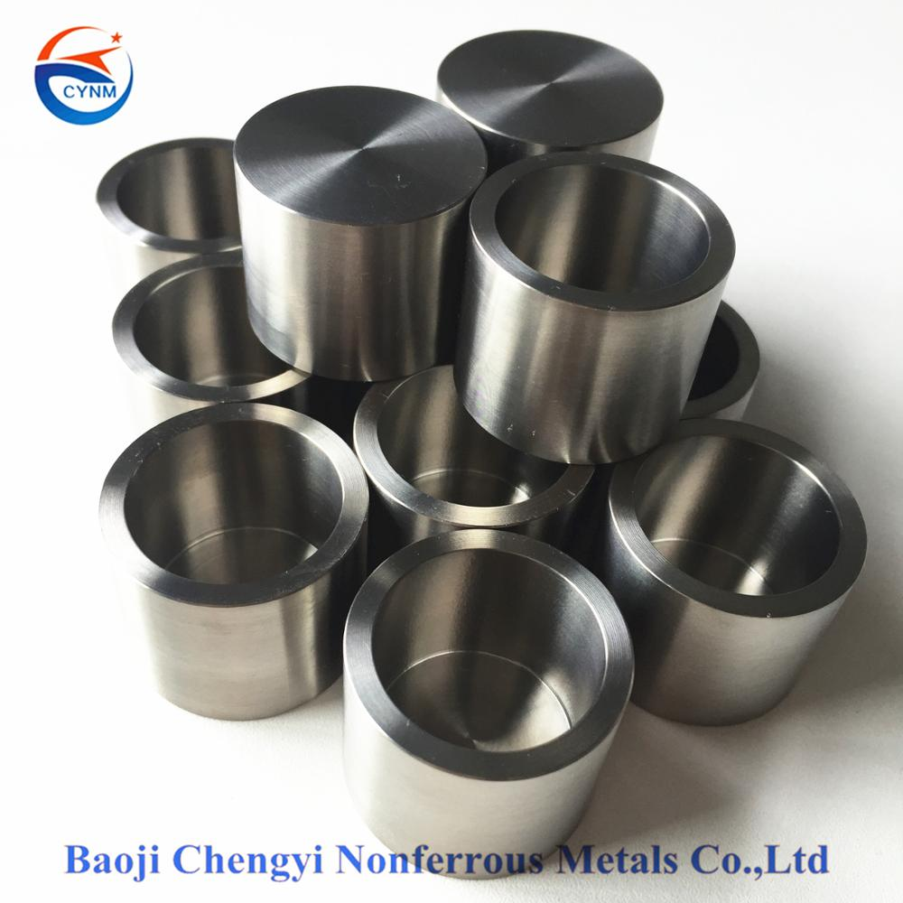 ASTM59 forging Tungsten Crucible used in high temperature vessels