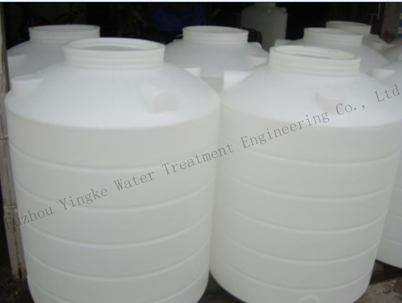 High quality vertical type food grade plastic polyethylene water tank with drain