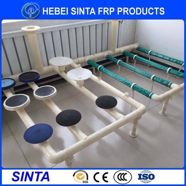 Disc type water treatment membrane diffuser