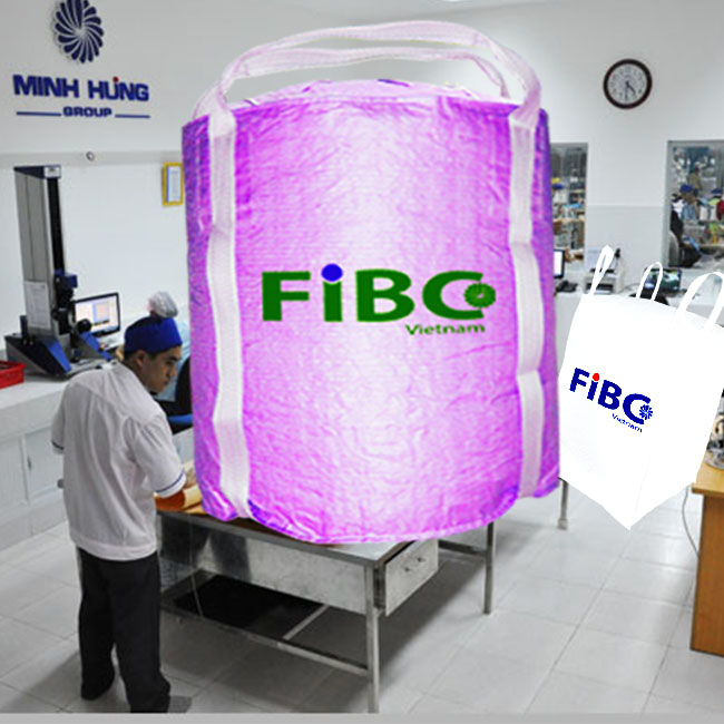 Fibc super sack for agriculture in Vietnam