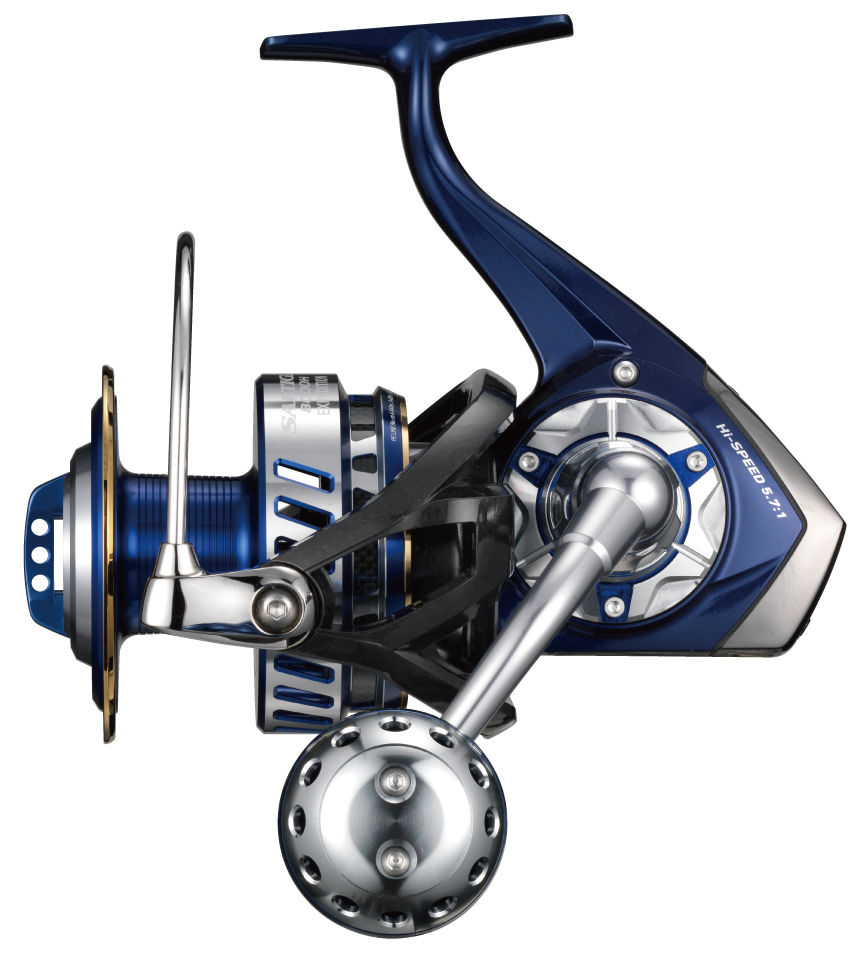 Daiwa 14 SALTIGA EXPEDITION 8000H Spinning Reel New
