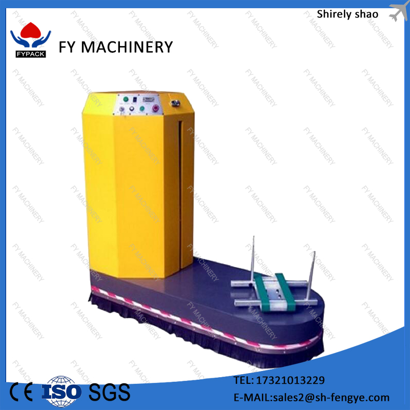 Rapid Delivery Factory Price CE ISO Steel Automatic Gift Stretch Airport Luggage Wrapping Machine