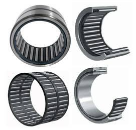 Self-aligning needle roller bearings