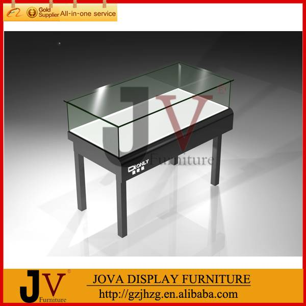 Good quality glass jewelry display cabinet