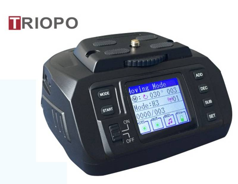 TRIOPO AD-10  Motorized Pan, Panorama head,Auto head,360 degree head and Tilt Head For HDslr and Vid