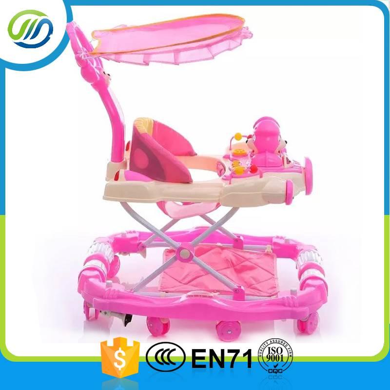 Good sales round baby walker china 8 wheels