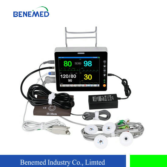 Ultraslim Portable Patient Monitor BenePM-8 with 8 Inch Screen and Six Parameters