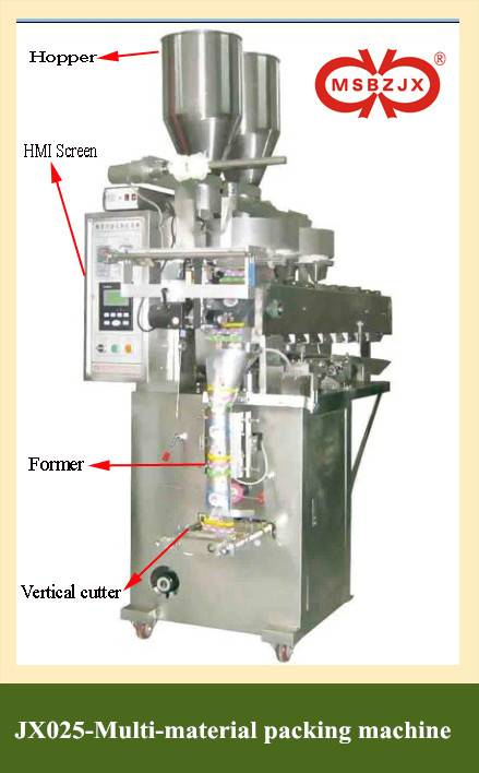JX025-Fully Automatic Multi-material Packaging Machinery