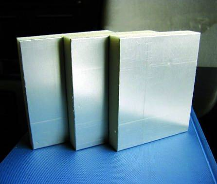 PU Pre-insulated Duct Panel with one side smooth