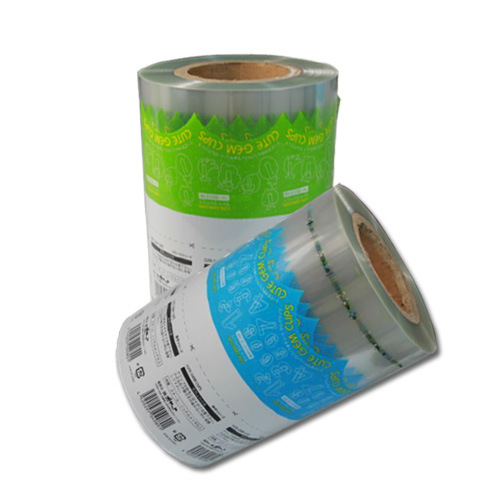 plastic film roll for automatic packaging machine