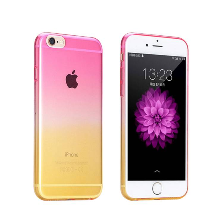 iPhone 6/6s Plus TPU Phone Case with HD Gradient Color