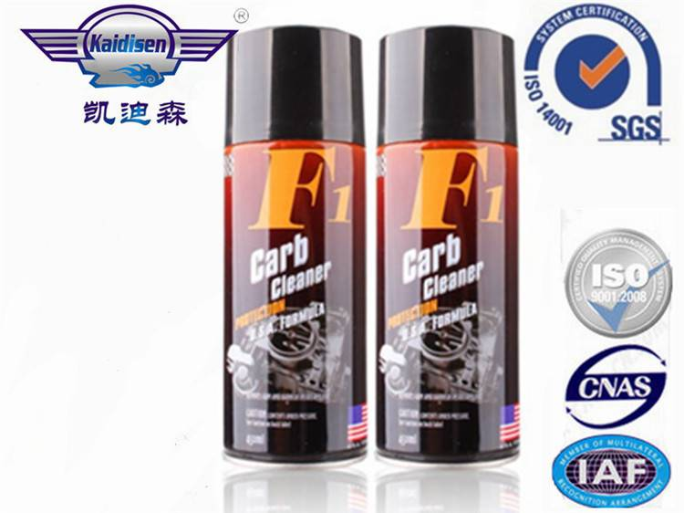 450ml F1 carb cleaner/carburetor cleaner/carb&choke cleaner/carburetor&choke cleaner for car care pr