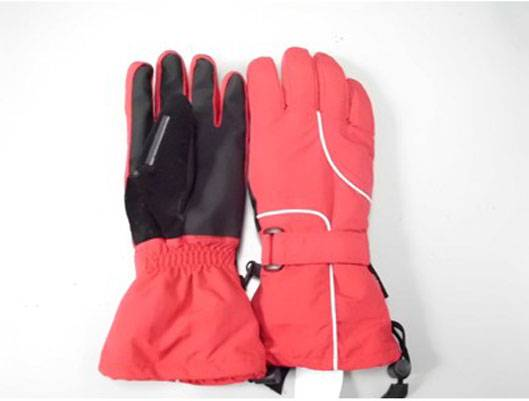 MOVABLE LITHIUM BATTERY ELECTRIC GLOVES (THICKENING) HEATING AREA-FIVE FINGERS