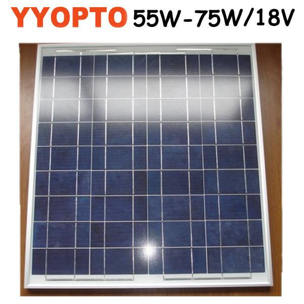 Mini solar panel poly 70W for many types solar system use