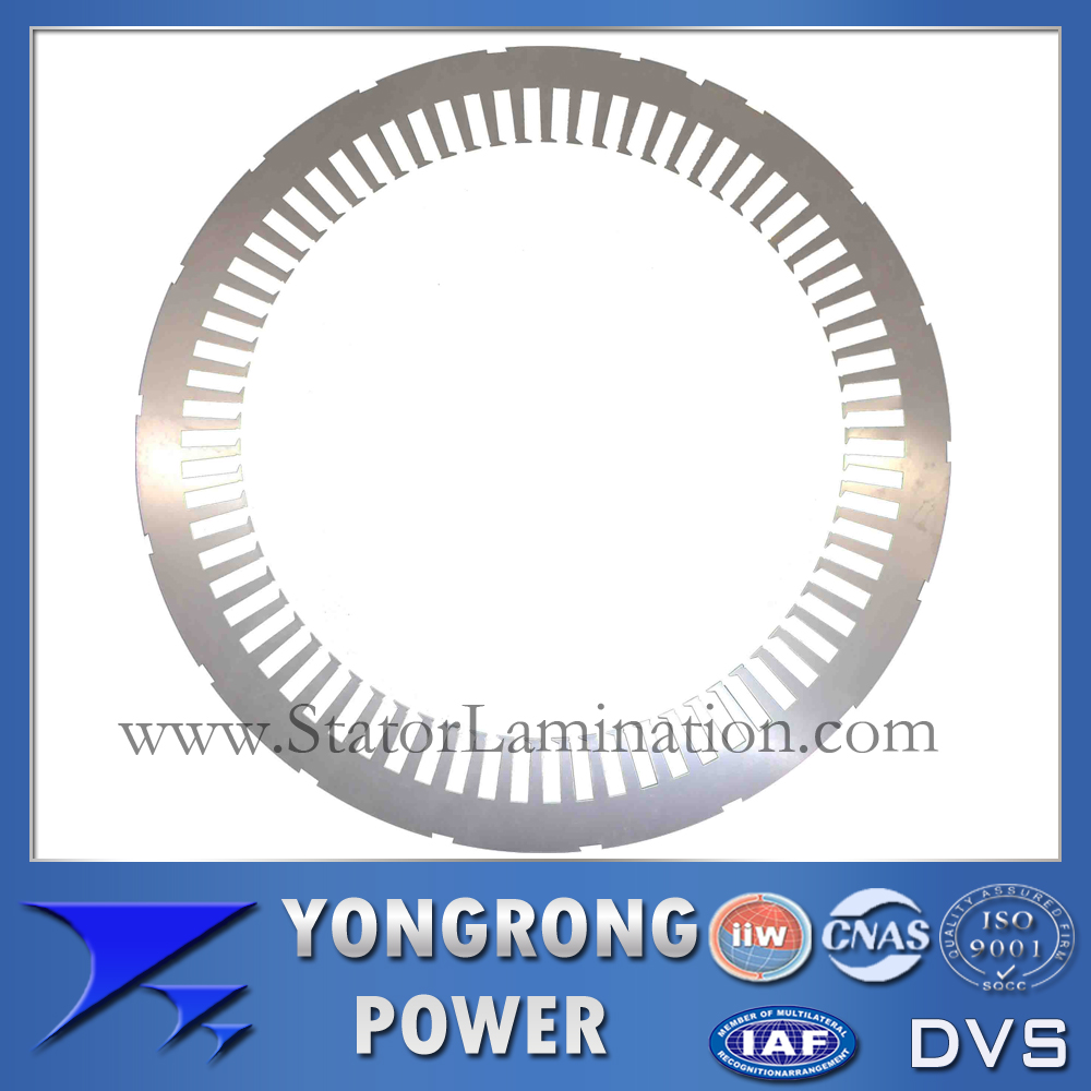 IE3 Efficiency Electric Motor Stator Lamination