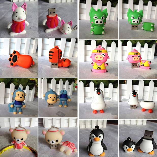 pen drive cartoon usb flash disk 4gb/8gb/16gb/32gb bulk usb flash drive flash memory stick pendrive