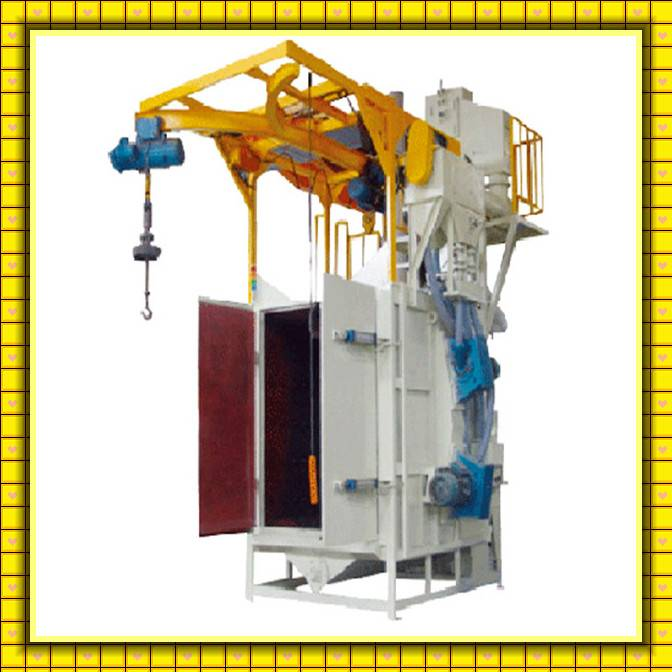 Automatic Manufacturer Anchor Chain Surface Shot Blasting Machine