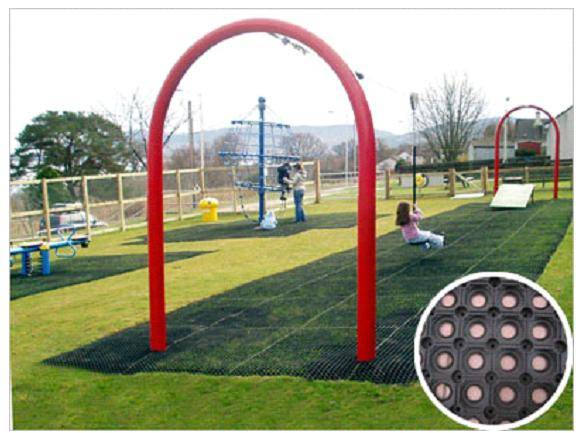 Safety/Grass Rubber Mat