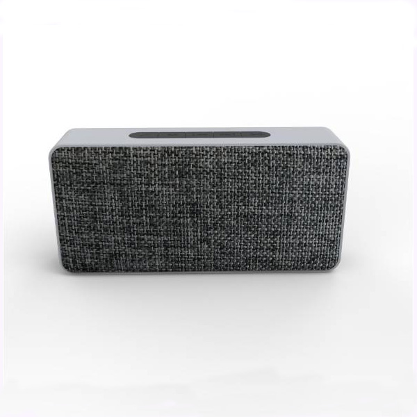 Wireless bluetooth speaker for household use with fabric decoration