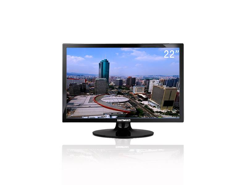 Sanmao Narrow Frame Design 22 Inch HD TFT LCD Monitor HDMI for Industrial