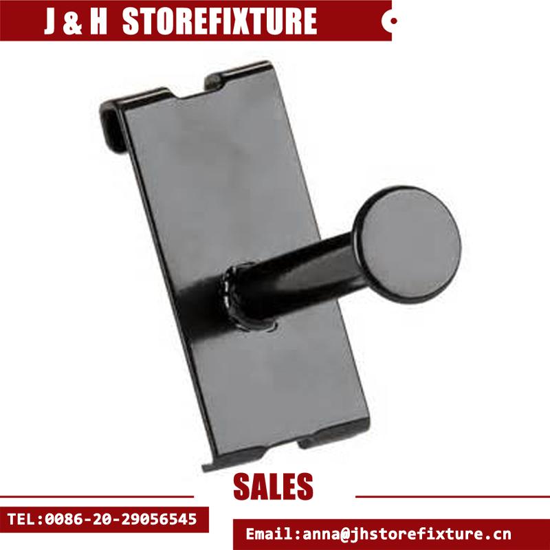 Metal Gridwall Hook Single Garment Display Prong Hooks