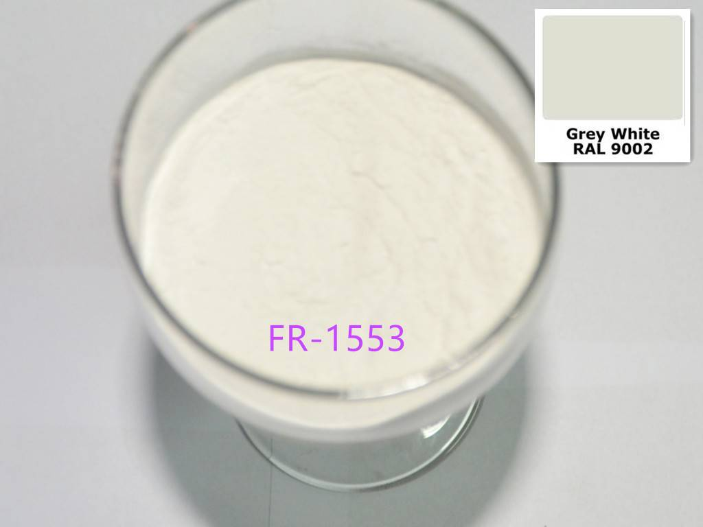 Epoxy/Polyester type RAL9002 Grey white Powder Coating for Treadmill
