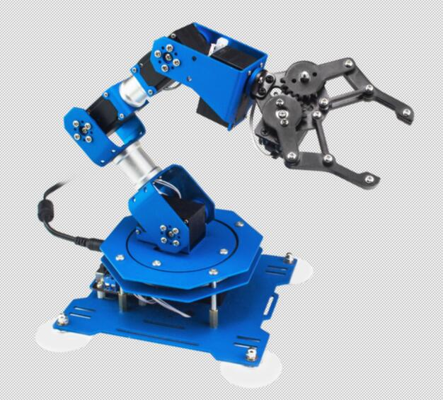Lewansoul-2018 technology invention High Quality Robot Arm 6 Axis,Arduino Kit,Robotic Arm Arduino