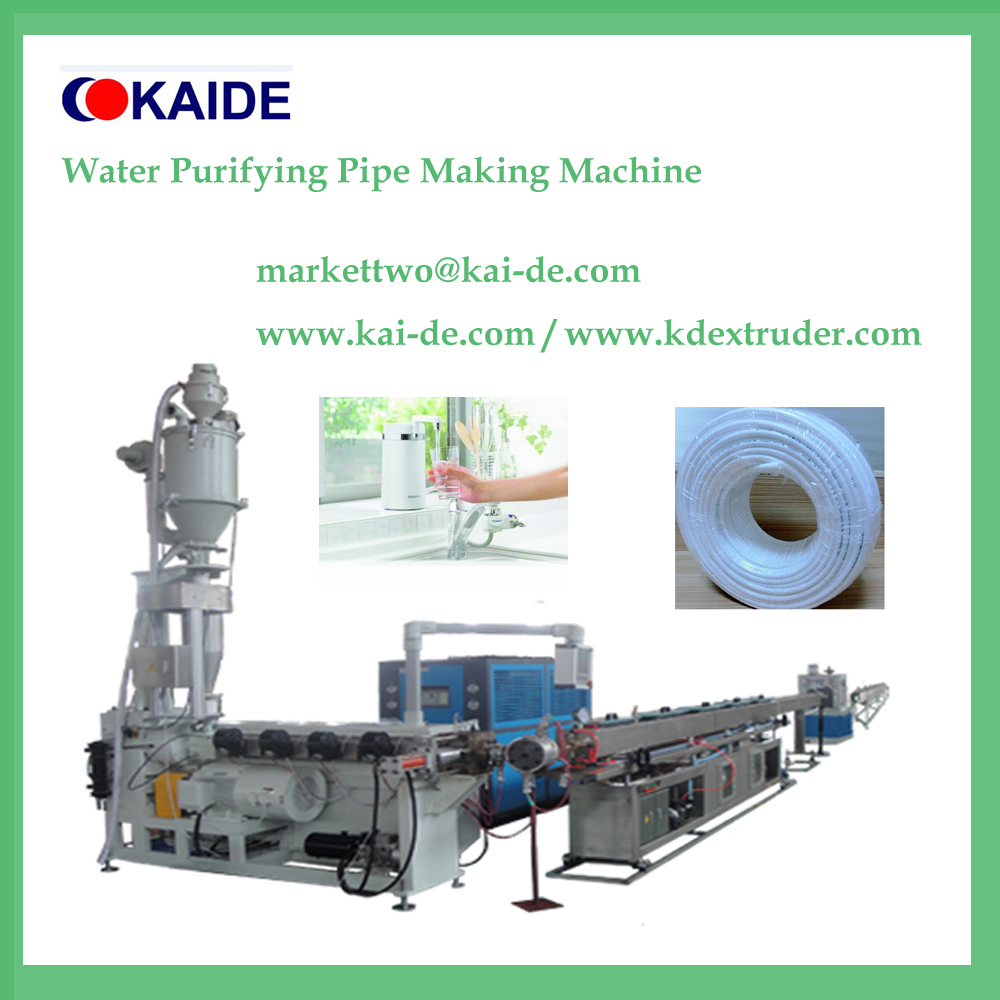 Purifier LLDPE Water tubing production line