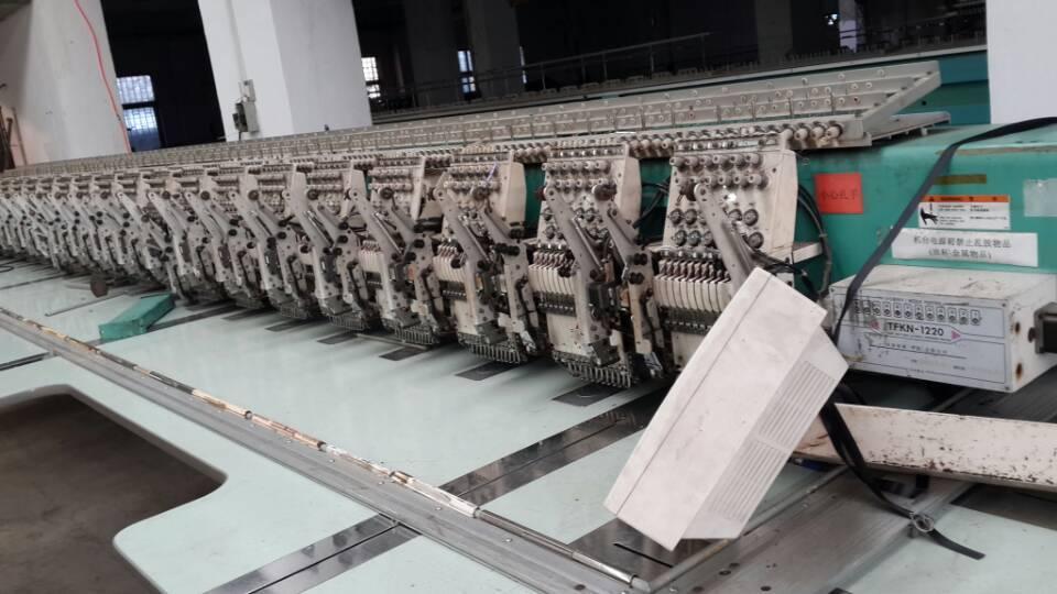 computer tajima  20heads double sequin embroidery machine