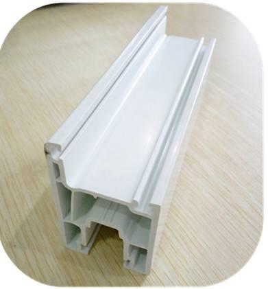 62mm plastic profile for sliding upvc window and door