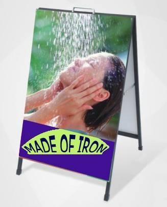iron A frame