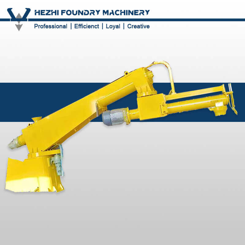 Single Arm / Double Arms Resin Sand Mixer Equipment Foundry Sand Mixing Machine For Casting
