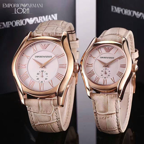 Armani Watch for Lovers, Many Color Available
